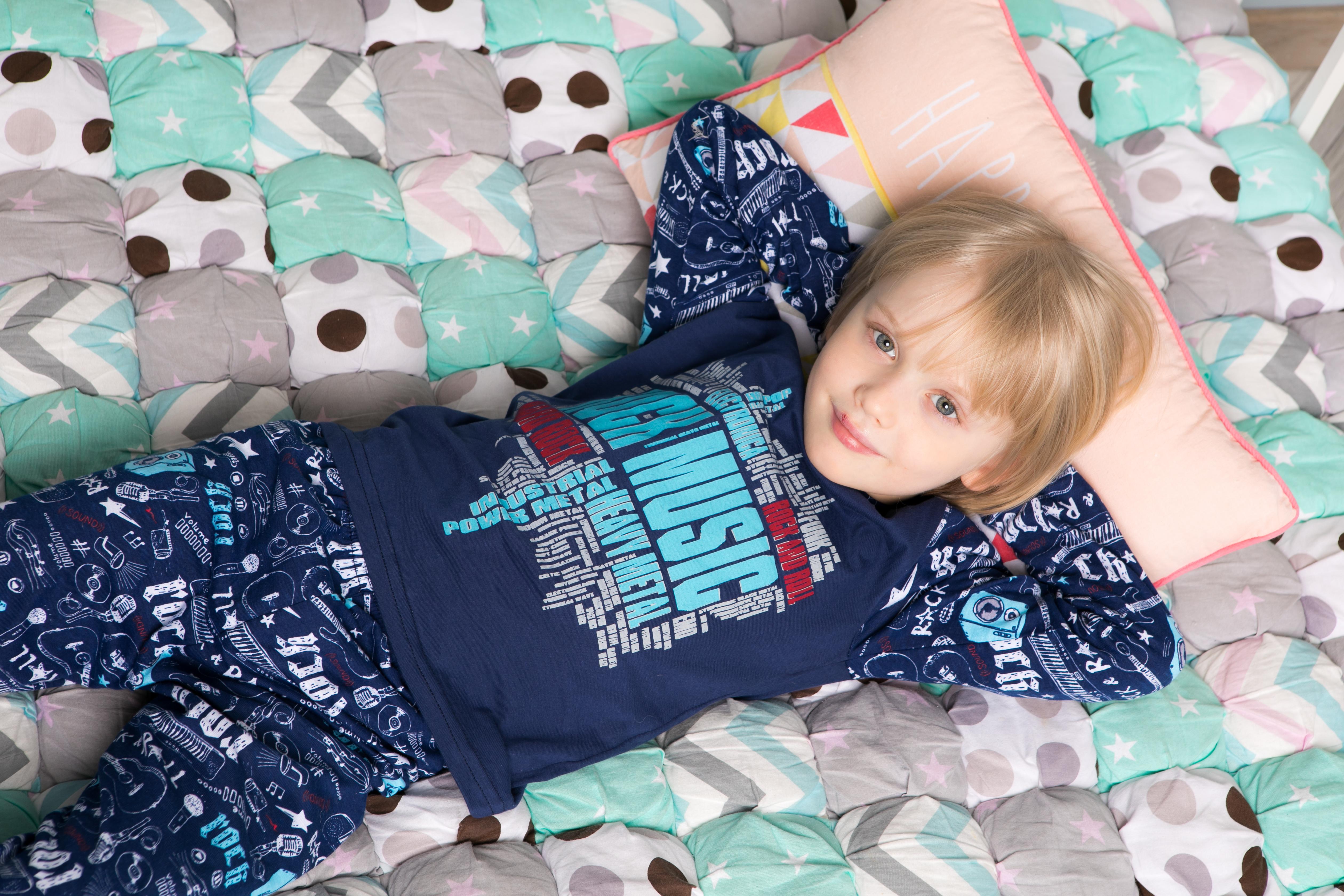 """Пижамы для мальчиков """"Rock music"""""""