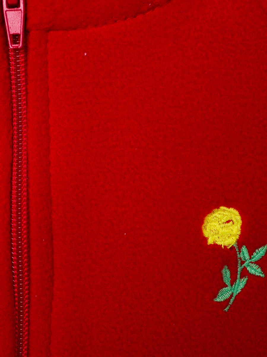 Флисовые толстовки(red)